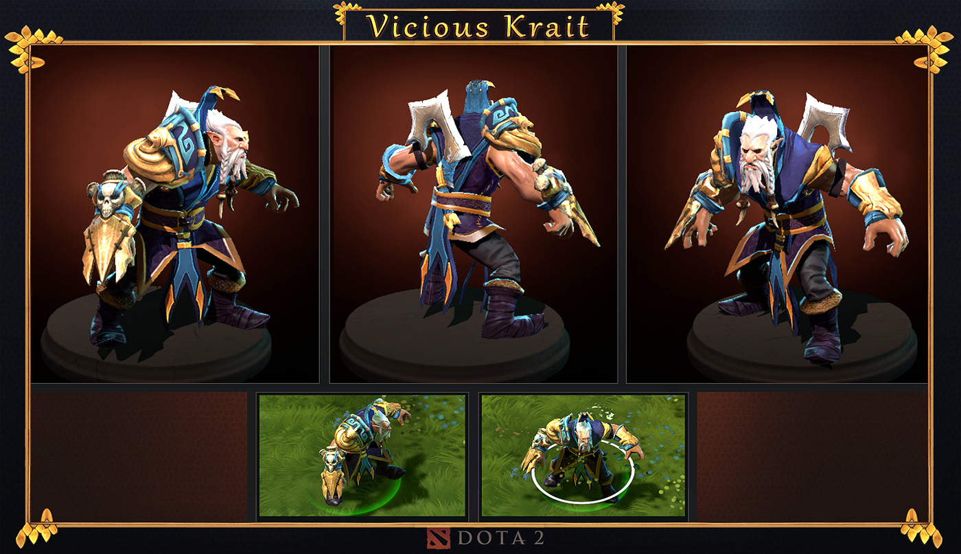 Vicious Krait set