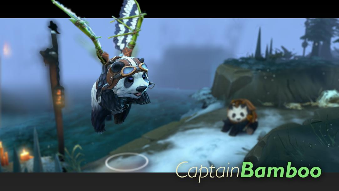 Captain Bamboo courier