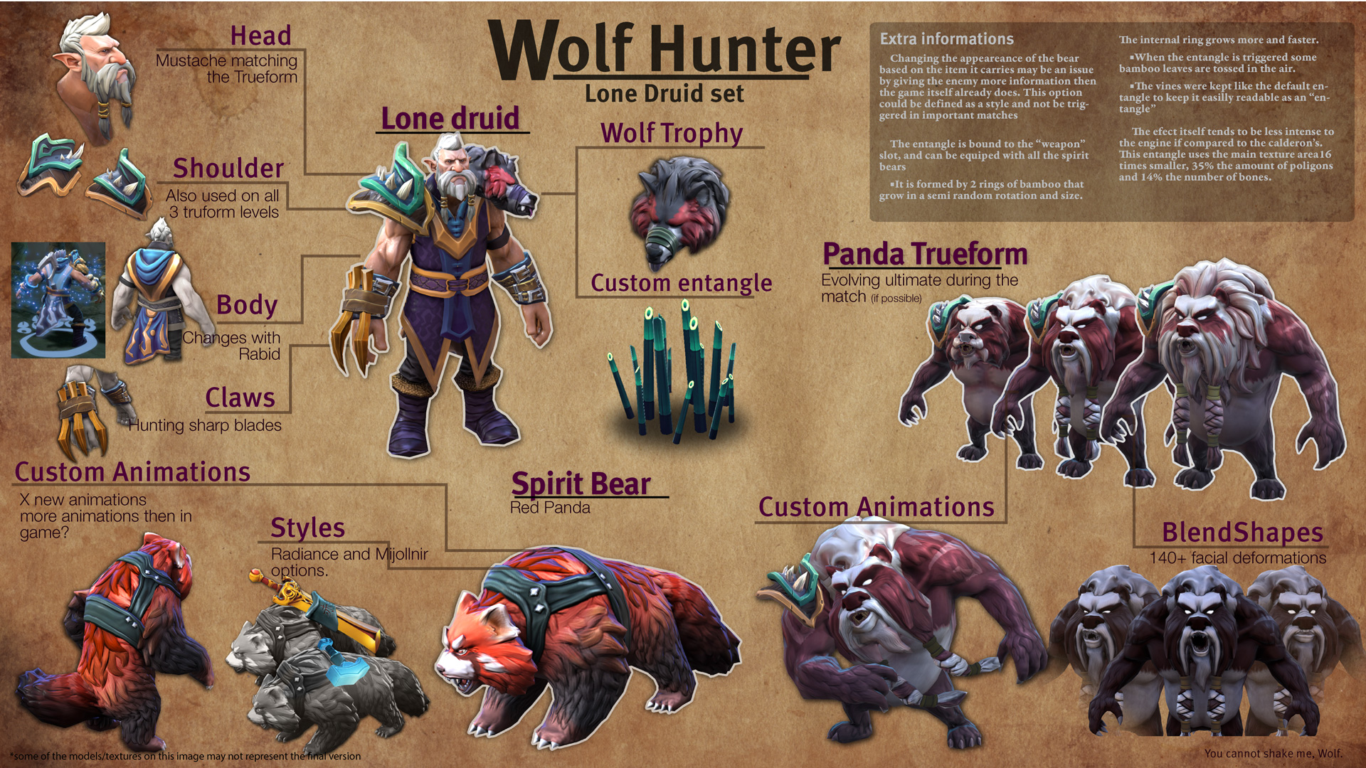 Wolf Hunter set